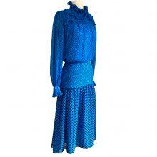 noe-cobalt-pindot-silk-midi-dress-flora-kung