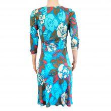 LENA-turquoise-silk-print-shift-flora-kung-