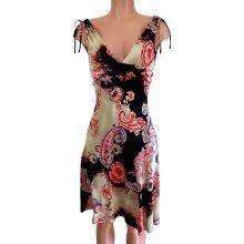 flora-kung-printed-boho-deep-v-silk-drawstring-shoulder-dress