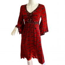 flora-kung-red-print-boho-midi-silk-dress