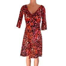 v-neck-pink-black-flora-kung-cheetah-print-silk-dress